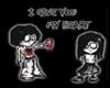 I give u my heart black