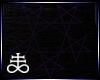 Pentagram star purple