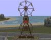 Old Double Ferris Wheel