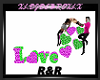 R&R LOVE SIGN W/POSES