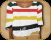 # Cozy Striped Poncho