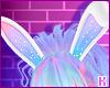 K|RainbowGlittrBunnyEars