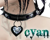 *c* Diamond Heart Collar