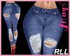 'Bimbo Jeans Ripped RLL