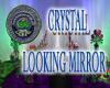 Crystal Looking Mirror