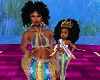 Kids Mom Royalty Mermaid