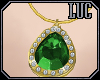 [luc] Necklace G Emerald