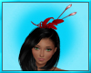 Red Feather Bonnet