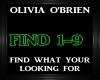 Olivia O'Brien~Find What