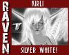 KERLI SILVER WHITE!
