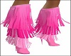 Pink Fring Boots
