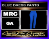 BLUE DRESS PANTS