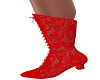 Victorian Lace-Red