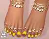 Beach Feet + Bling