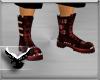 (ES) Red Biker Boots