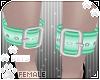 [Pets] Anklecuff | aqua