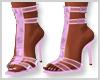 Lavendar Butterfly Heels