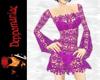 Dawn Crochet Dress PINK