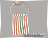 H.  Poppy Hand Towel