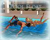 *C* Blue Pool Float
