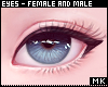 金. Blue Eyes