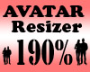 Avatar Scaler 190% / F