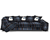 Country Christmas Sofa