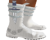 White Warrior Boots knif