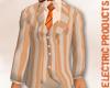 (W) peach suit