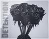 ★(Unisex) Black Roses