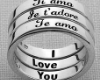 **114I love You Ring
