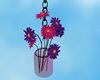 Hanging Flowers Glass