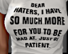 !L! Dear Hater..