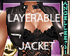 LEATHER LAYERABLE JACKET