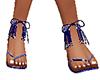 new blue sandals