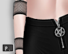 *P Fishnet Arm Band L