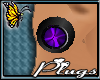 (BFD) Plugs Purple Orb