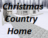 Christmas Country Home