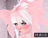 🅜 PINKU: lrg pink bow