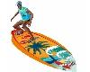 tabla de surf animada
