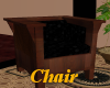 (AF) Wood chair