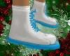 Blue Xmas Boots