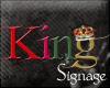 [K2J] King Sign