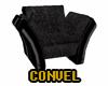 Black Cuddles Chair