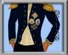!!D Admiral Dress Coat