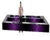 fuente larga violet