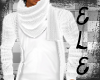 [Ele]Warm Sweater White