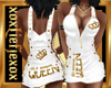 [L] QUEEN Gold Dress F