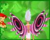 peacock pink wings