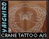 Crane Tattoo Any Skin